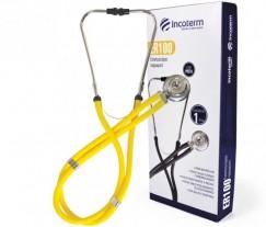 Estetoscópio Rappaport Incoterm ER100 Amarelo