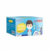Máscara Cirúrgica Infantil Descartavel Luimed - 50un.