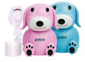 Inalador Nebulizador G-tech Dog - Rosa Ou Azul