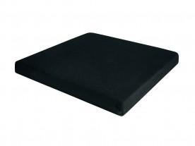 Almofada Especial Confort Seat Perfil Baixo Perfetto Preta