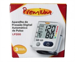 Medidor Pressão Arterial Digital Pulso Premium Accumed Lp200
