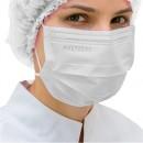 Máscara Cirúrgica Protdesc Descartável Tripla com Elástico Branca 50un.