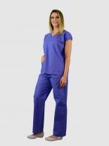 Pijama cirúrgico unissex - AZUL