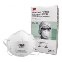 Máscara de Proteção Respiratória 8801H PFF-2 S Caixa C/20un. 3M